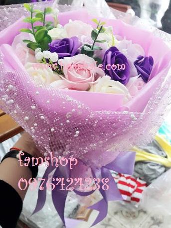 Hoa hong sap thom vinh cuu o Nam Tu Liem
