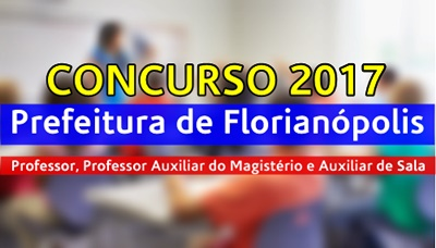 Concurso Prefeitura de Florianópolis 2017