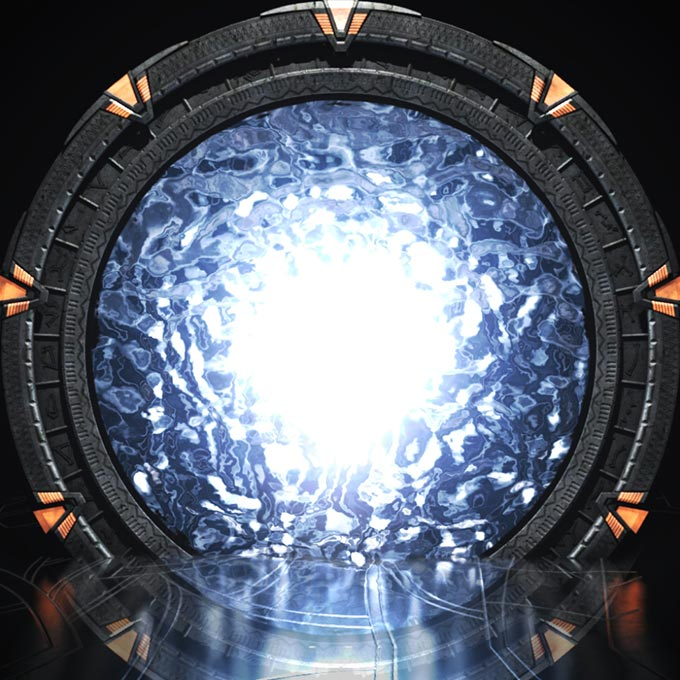 Stargate With Shimmer Wallpaper Engine