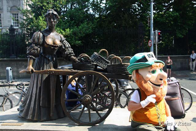 Molly Malone y el leprechaun, Dublin