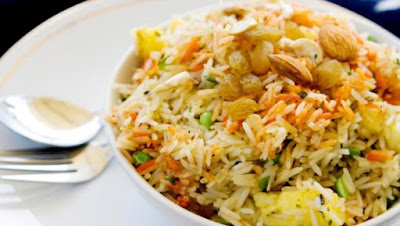 bursting with spices and beautiful in its simplicity Vegetable Biryani Recipe