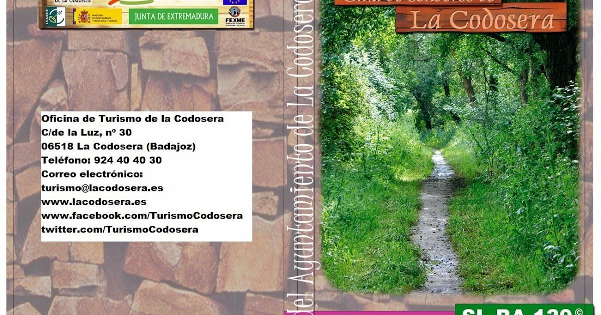 Turismo la codosera rutas de senderismo for Oficina turismo badajoz