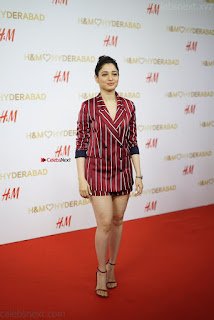 Tamannah Bhatia Exclusive in Red Blazer and Red Shorts Spicy Pics ~  Exclusive 018.JPG