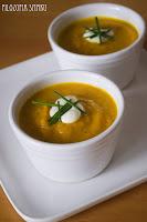 (Tajska zupa marchewkowa z imbirem