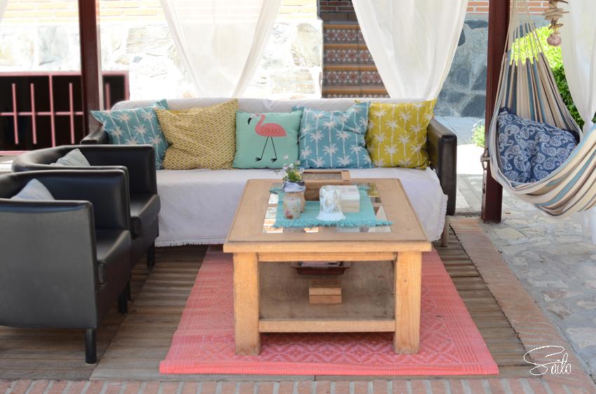 jardín decoración mobiliario