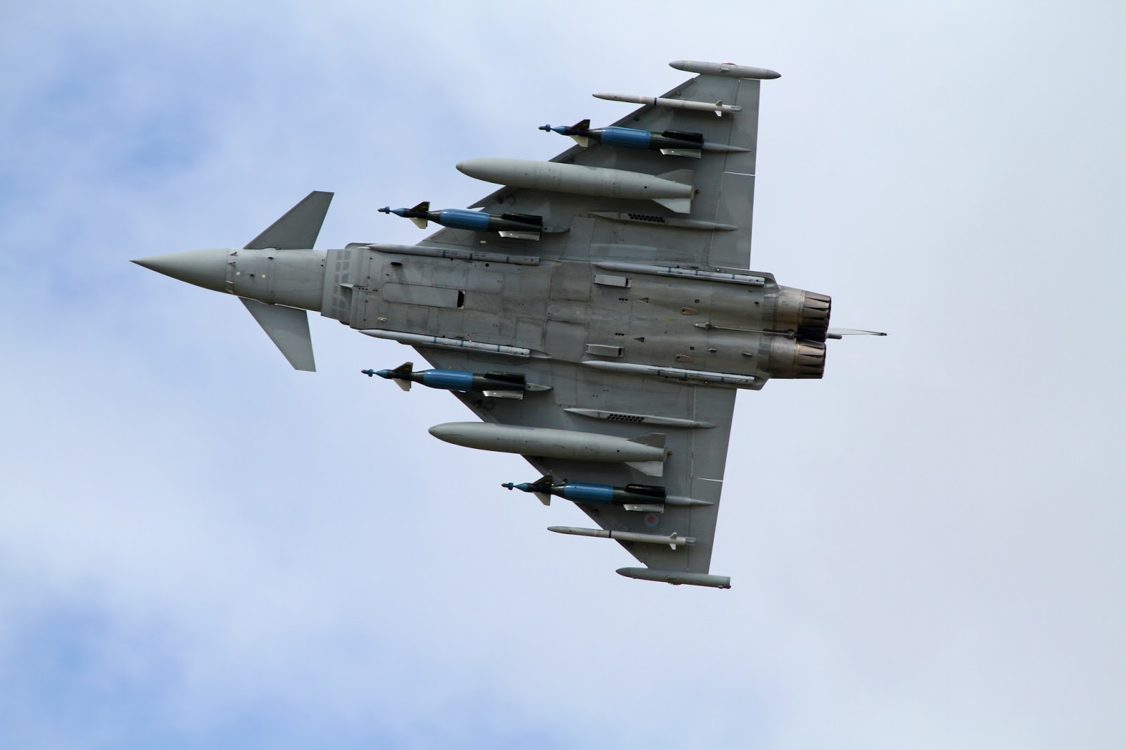 Defense Strategies: Eurofighter Typhoon F2 - A Photo Album