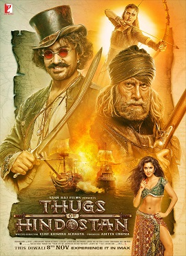 Thugs of Hindostan 2018 Hindi Pre-DVDRip 1.6Gb Best Print