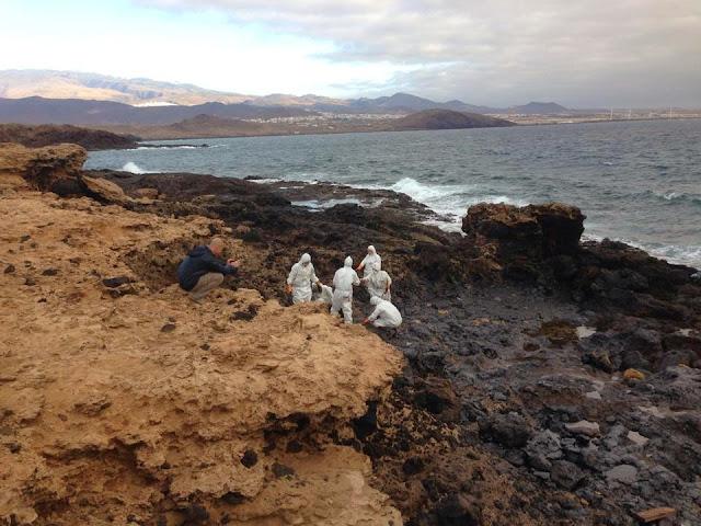 Vor Gran Canaria ist wieder Öl im Atlantik 05