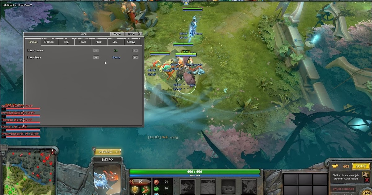 Dota 2 Maphack 2014 Hacking Area 619