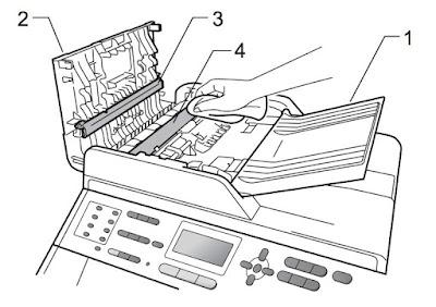 Toner-Spot: Brother MFC 9560CDW Print Quality Problem
