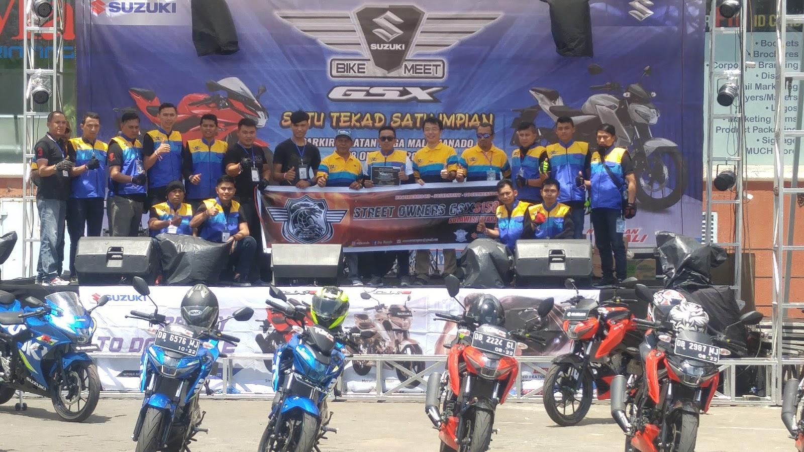 Di Hari Sumpah Pemuda, Rangkaian Suzuki Bike Meet 'Satu Tekad, Satu Impian' Dimulai di Manado
