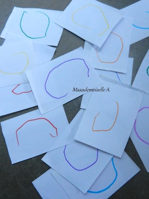 Activité/DIY : Un jeu de mémo en papier, facile et rapide à faire avec les enfants