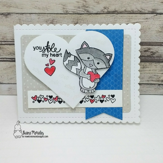 You stole my heart by Diane features Sweetheart Tails by Newton's Nook Designs; #newtonsnook
