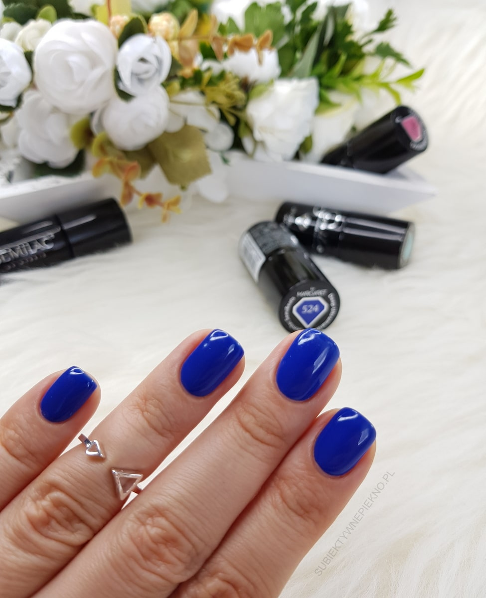 DEEP ULTRAMARINE SEMILAC 524 swatch, opinie, blog