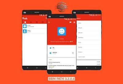 BBM Mod Path V3.2.0.6 Apk Terbaru