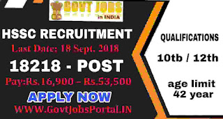 10TH Pass Government jobs in India
