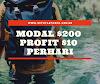 Modal $200 profit $10 perhari