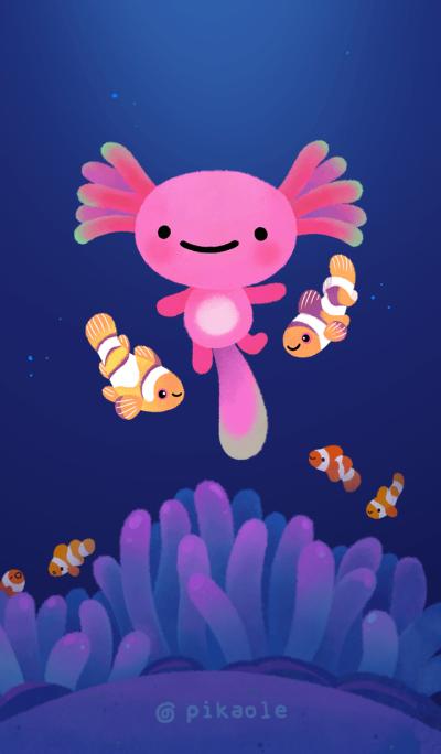 Coral Axolotl