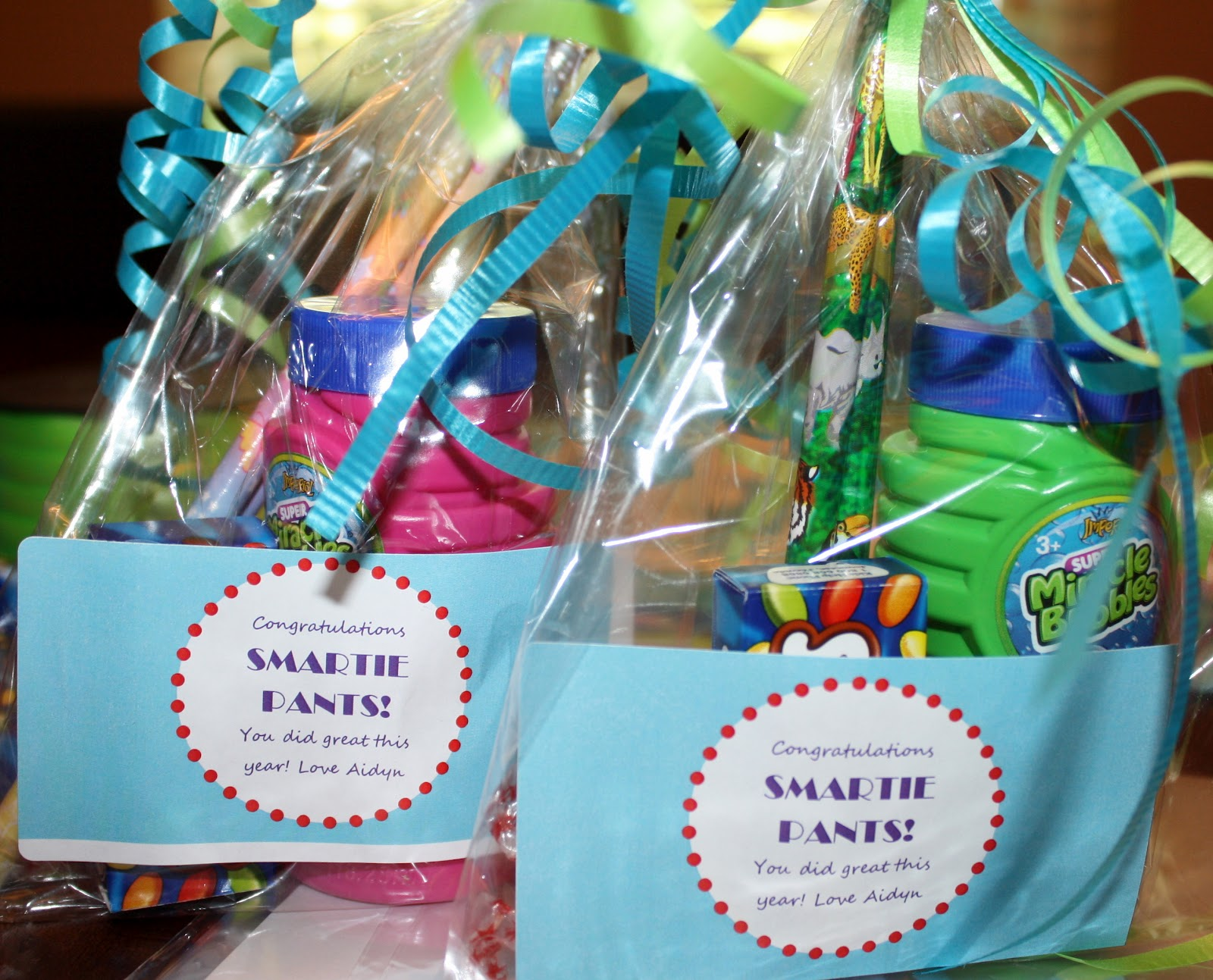 one+of+each - Kindergarten Graduation Gifts
