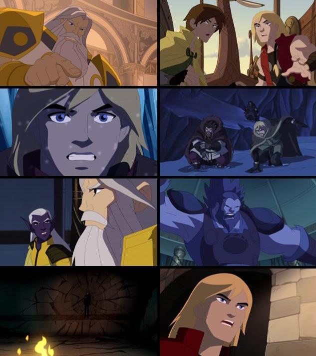Thor Tales Of Asgard 2011 Dual Audio Hindi 720p BluRay 600mb