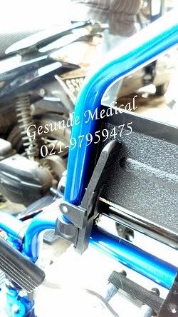 Kursi Roda Lipat Alumunium FS208LAP  Toko Medis Jual