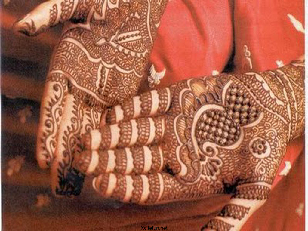 Indian Bridal Henna Designs: The Cultural Heritage Of India: Mehndi : Henna Designs