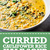 Curried Cauliflower Rice Kale Soup (Paleo, Whole30 & Vegan)