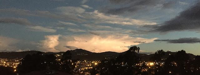 Sky in South Cuenca