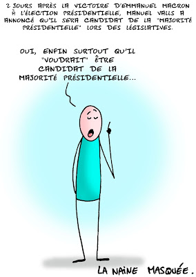 Valls en marche..