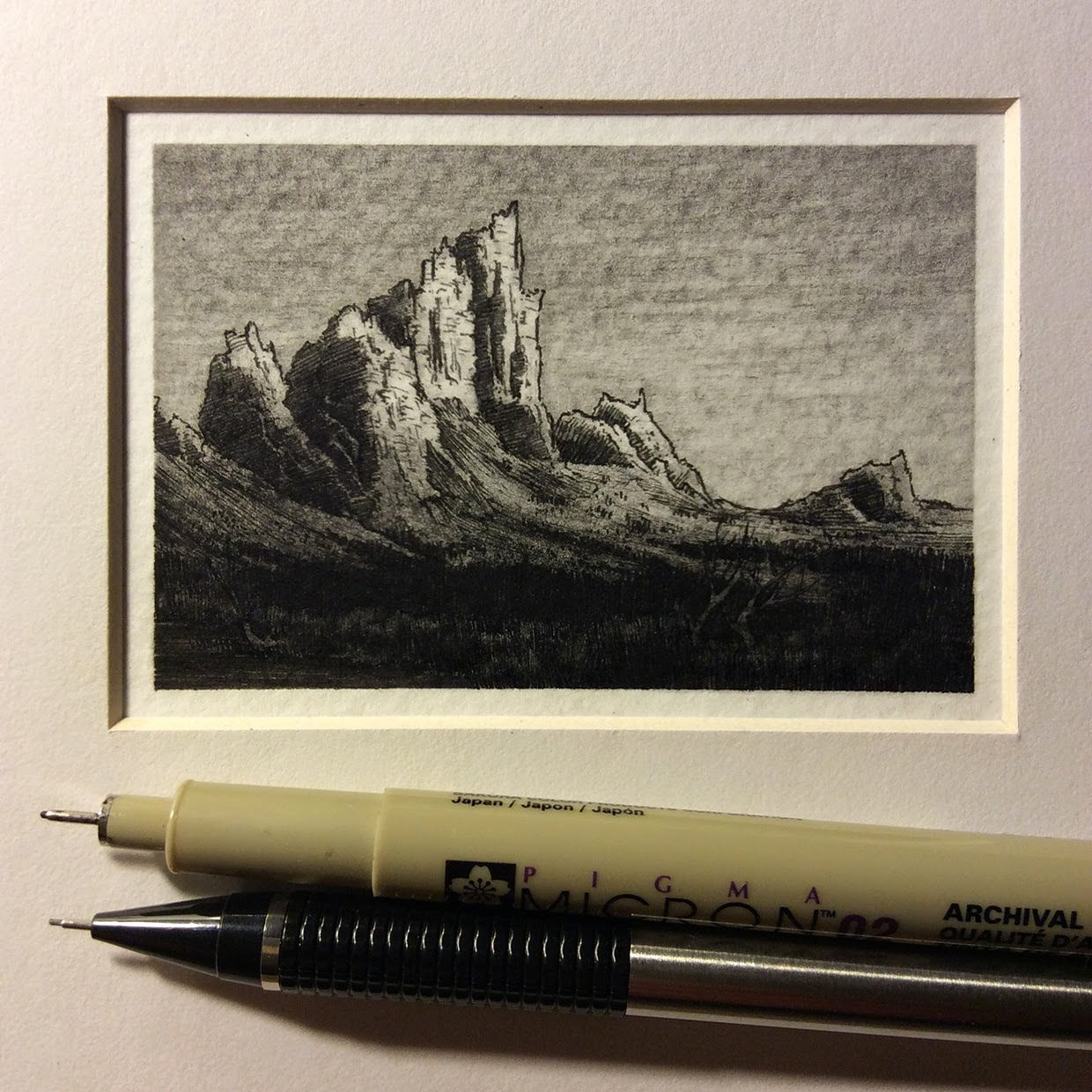10-Taylor-Mazerhas-Miniature-Pencil-and-Ink-Drawings-with-a-lot-of-Detail-www-designstack-co