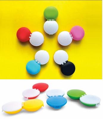 pantone contact lens cases