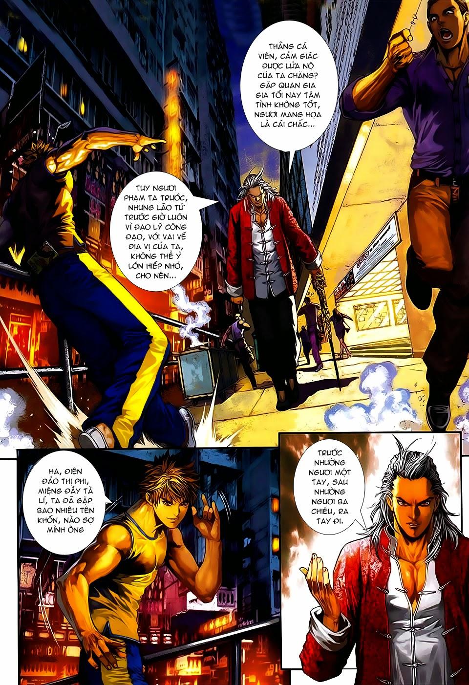 Quyền Đạo chapter 7 trang 8