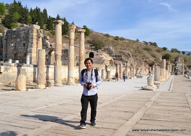 Ed in Ephesus