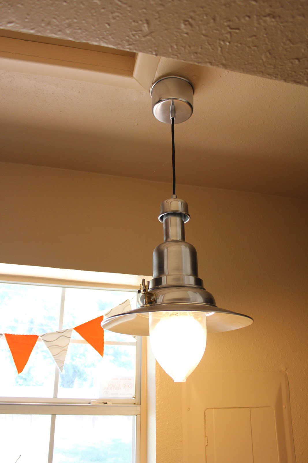 New Light Of Myanmar Daily Journal: Kitchen/Laundry Room - New Light Fixtures