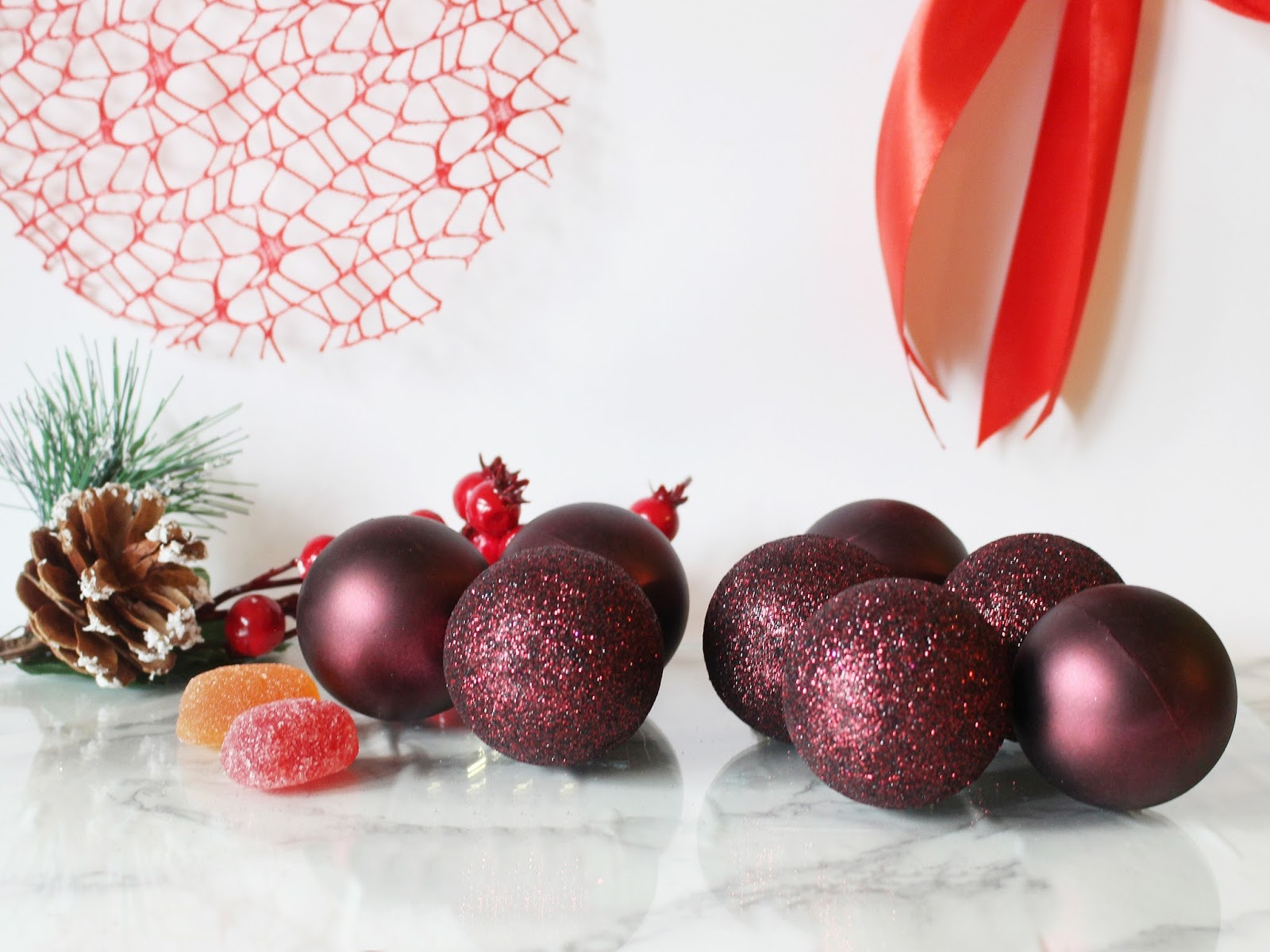 Interspar karácsonyi dekoráció