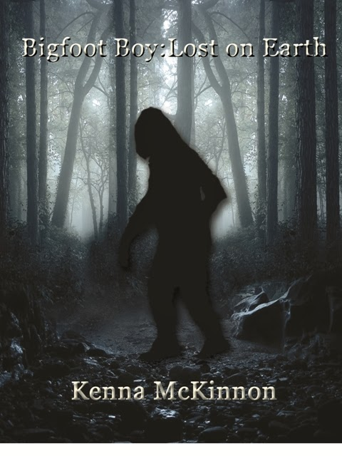 http://www.amazon.com/Bigfoot-Boy-Earth-Kenna-McKinnon-ebook/dp/B00GRIAF0Y/ref=sr_1_1?s=digital-text&ie=UTF8&qid=1385014173&sr=1-1&keywords=bigfoot+boy