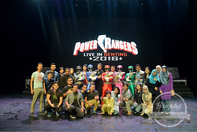 Karnival Superhero Power Rangers Di Resorts Wolrd Genting