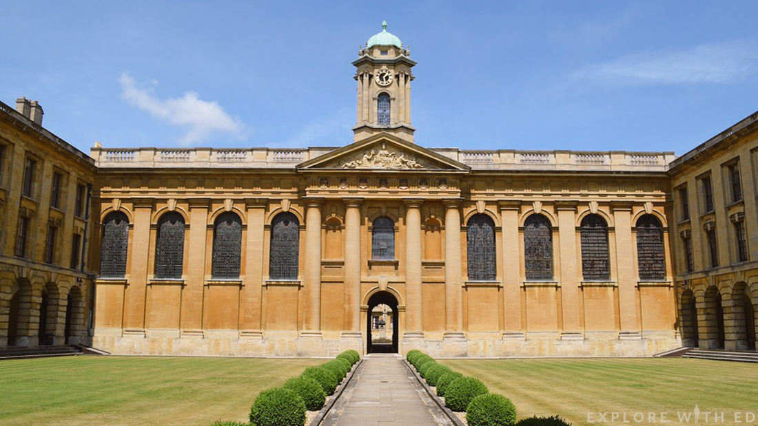 Queen's College, Oxford University, Oxford