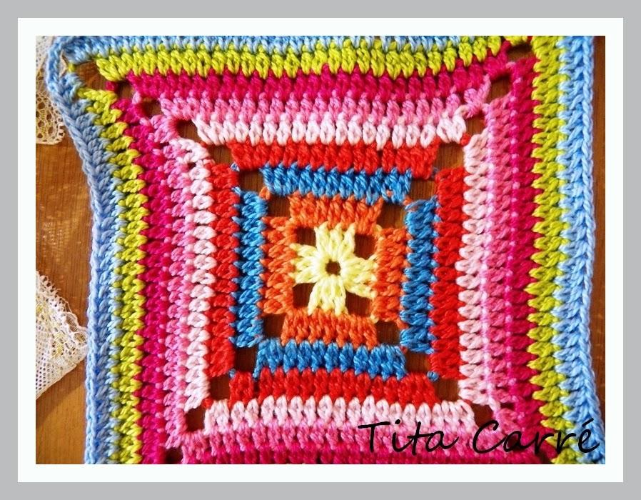 Square\ granny square ou ainda quadradinho da vovó em cores