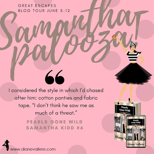Pearls Gone Wild by Diane Vallere | #Samanthapalooza! Tour w/ Review & Giveaway