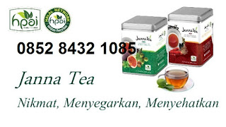 Khasiat janna tea hpai cool dan hot Original minuman obat herbal stamina