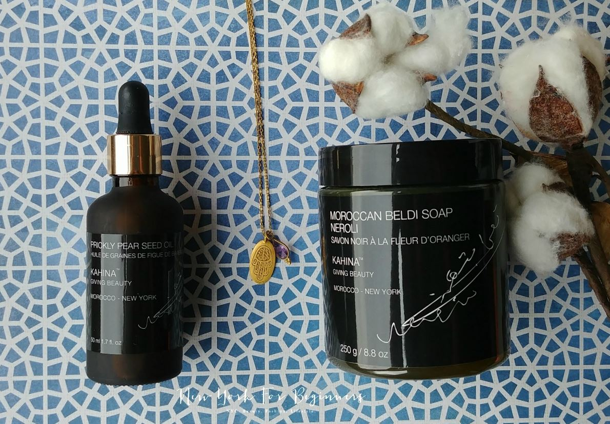 Kahina Giving Beauty, Haute Natural Cosmetics review at New York For Beginners