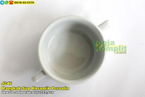 Mangkok Sup Keramik Porselin