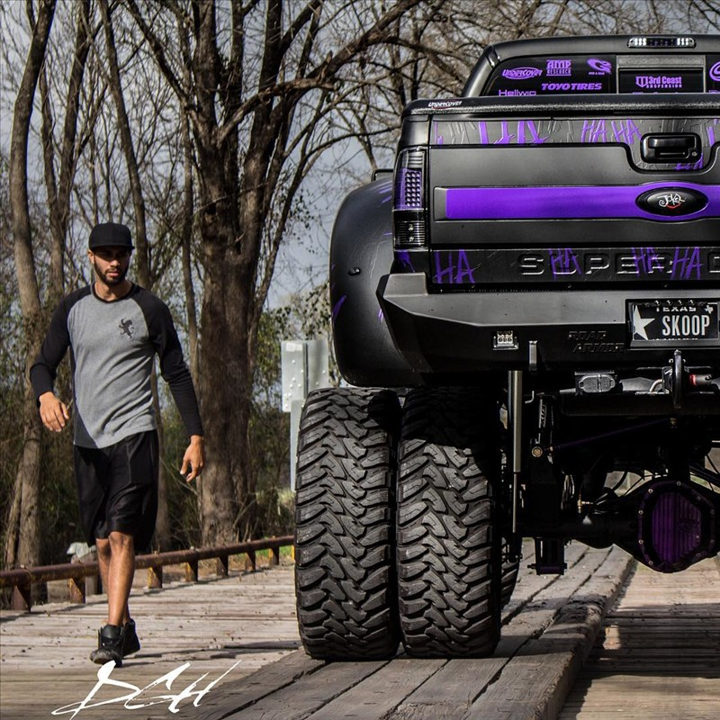 Joker Ford super Duty f-350 Platinum 1