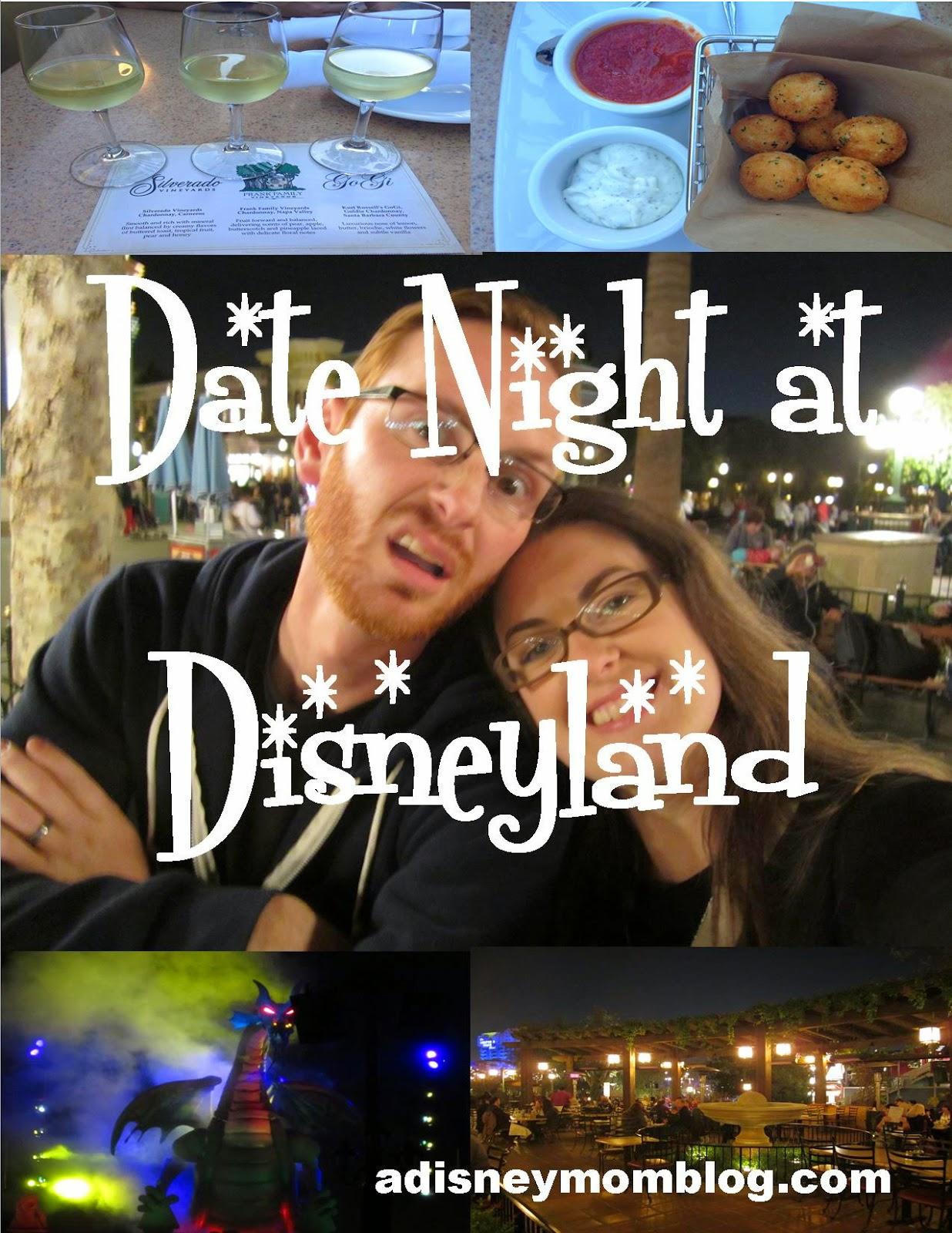 Date Nite at Disneyland