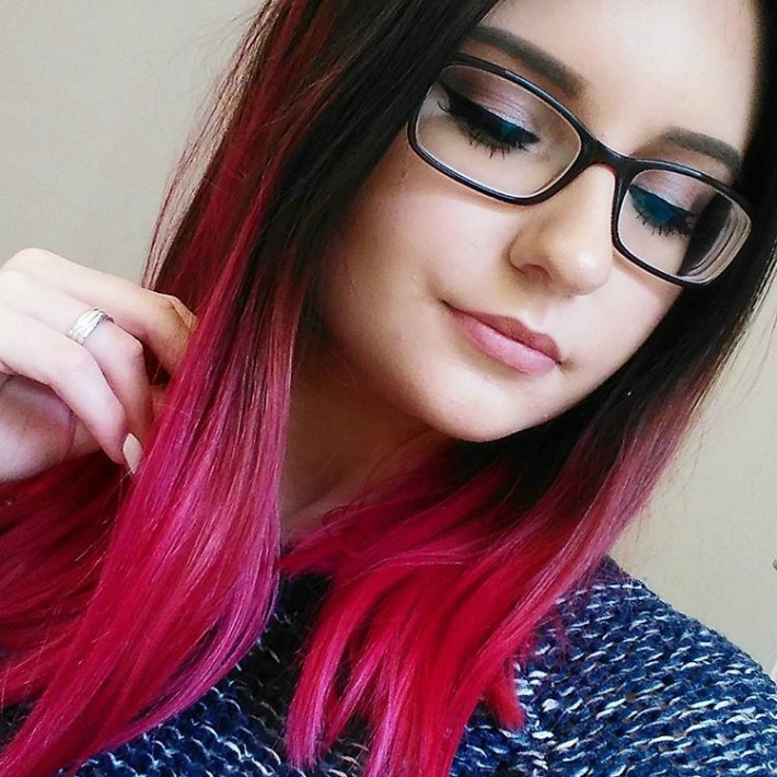 Awesome Red Ombres! Brown Hair With Red Tips Tumblr