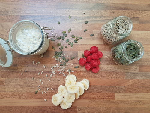 speedy bircher porridge recipe