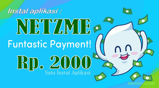 Instal aplikasi chat Netzme di android dan dapatkan ratusan ribu rupiah sehari