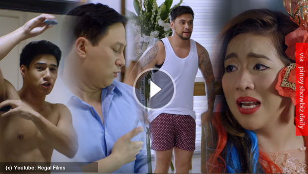 Full trailer of That Thing Called Tanga Na starring Billy Crawford, Eric Quizon, and Angeline Quinto
