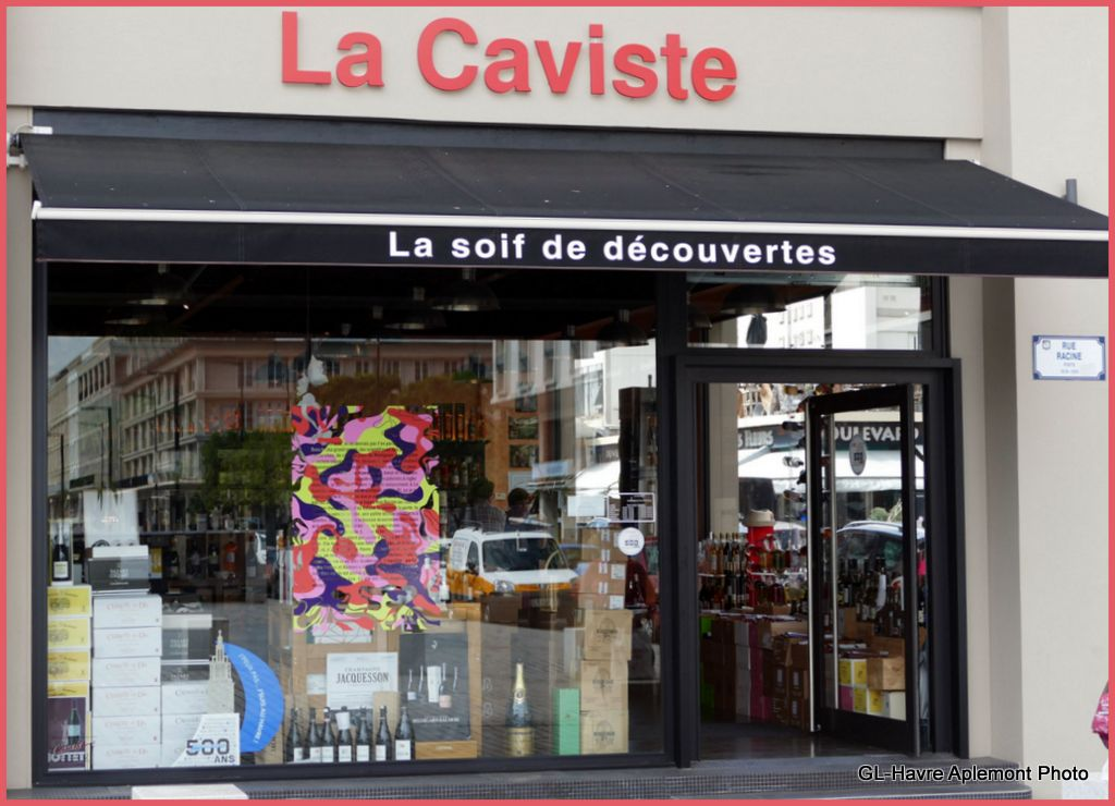 havre aplemont photo anecdotes en vitrine chez la caviste. Black Bedroom Furniture Sets. Home Design Ideas